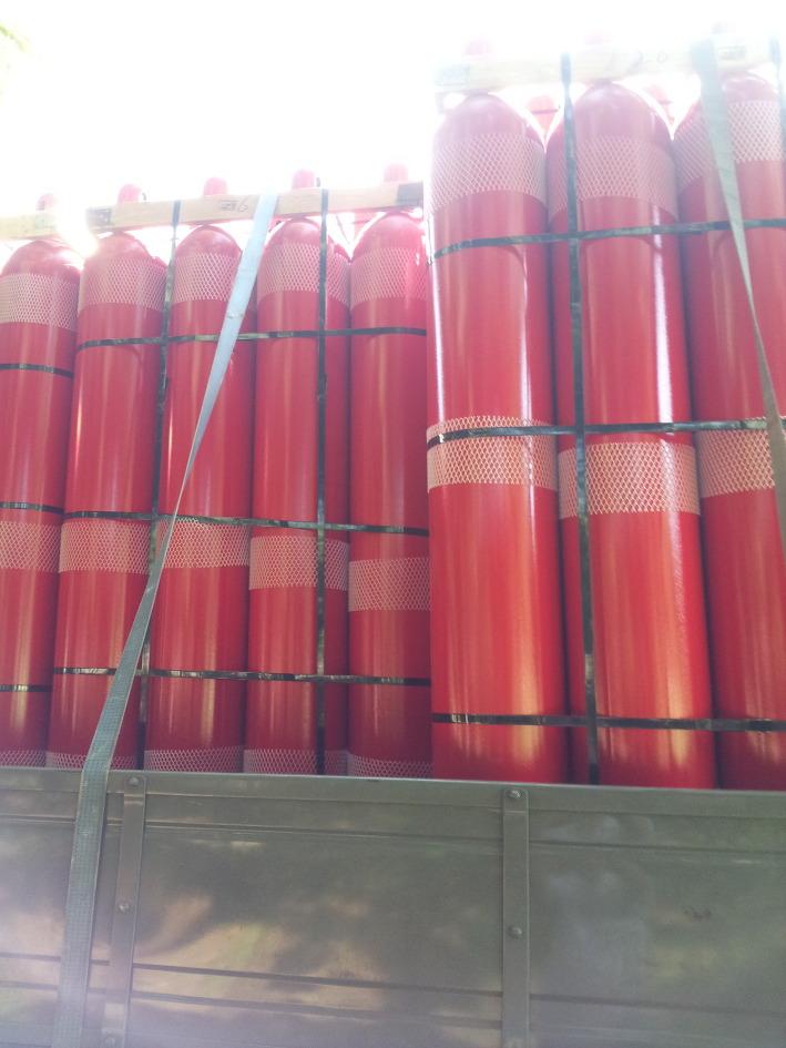 Bình chữa cháy khí sạch Hàn Quốc