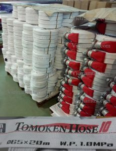 Vòi cứu hỏa Tomoken Japan D50 -1.0Mpa-20m-30m