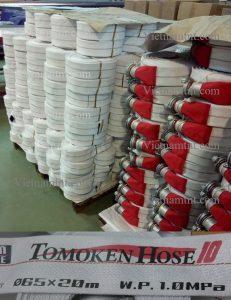 Vòi cứu hỏa Tomoken Japan D65 -1.6Mpa-20m-30m