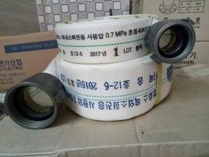 Vòi chữa cháy Hàn Quốc D50 áp lực 7bar-15m-20m-30m