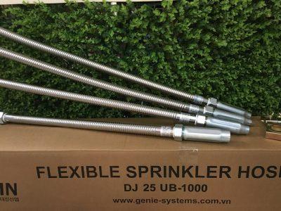Dây mềm nối sprinkler đạt chứng nhận UL và FM có vỏ bện Inox áp lực 12bar / 175psi