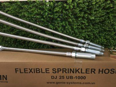 Ống mềm nối đầu phun sprinkler chữa cháy loại có vỏ bện inox chứng chỉ FM