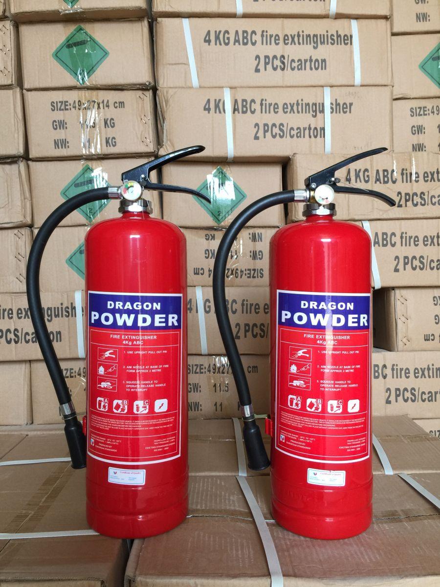 Bình cứu hỏa- được cục PCCC kiểm định và dán tem