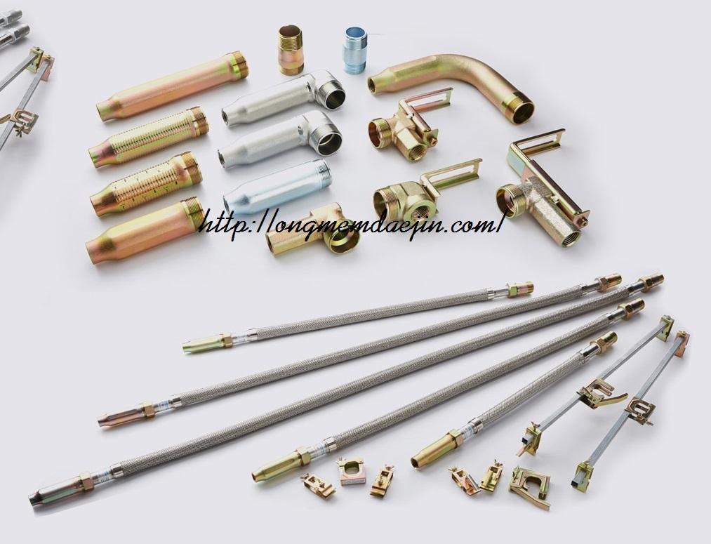 ống mềm nối đầu phun đạt áp lực 14bar- có kiểm định PCCC- sản xuất tại Việt Nam