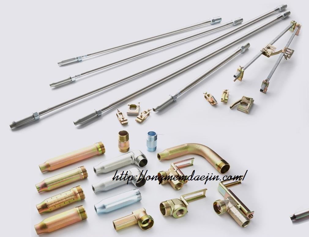 Ống mềm nối đầu phun chữa cháy áp lực 14bar - có kiểm định của cục pccc theo Nghị định số 136/2020/NĐ-CP của Chính phủ