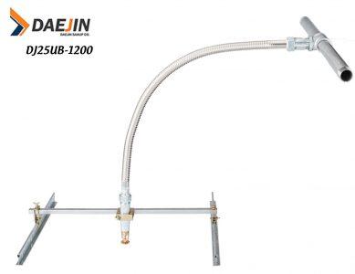 Ống mềm dành cho đầu phun chữa cháy dài 1200mm áp lực 14bar/200psi Ống mềm có kiểm định pccc của cục PCCC Việt Nam/ dán tem kiểm định PCCC năm 2021/ dán tem kiểm định theo nghị định 136 của chính phủ Việt Nam model sản phẩm: DJ25UB-1200 Sản phẩm có chiều dài cơ bản : 1200mm Kiểu cách: Loại không vỏ bện Inox Chất liệu: Inox 304 Áp lực hoạt động kiểm định PCCC: 14bar / 200psi Sản phẩm của: Sản xuất tại Việt Nam Daejin Sanup Co Chứng nhận: UL, LPCB, KFI...MSA Chứng nhận việt Nam: Ống mềm dành cho đầu phun chữa cháy hãng Daejin loại Dài 1200mm / được kiểm định và dán tem của cục PCCC Việt Nam./ đầy đủ giấy tờ xuất xưởng kèm theo hàng hóa./ sản phẩm này là sản phẩm không vỏ bện Inox. đối với sản phẩm vỏ bện Inox thì model là DJ28B-1200 có kiểm định PCCC Việt Nam.