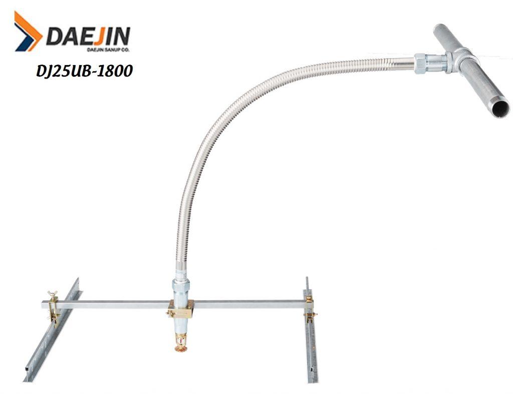 Ống mềm sản xuất Daejin có kiểm định dán tem pccc